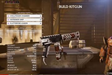 Warframe Build Kitgun in Fortuna
