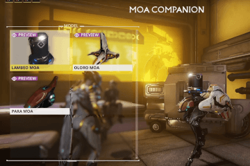 Warframe New MOA Companions are waiting for you