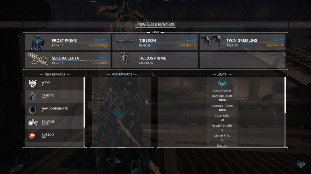 What happens if you kill all enemies with your warframe abilities