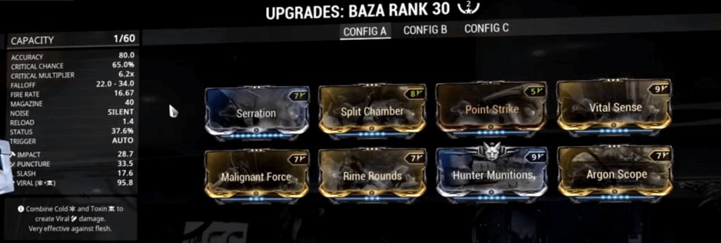 Baza 2 Forma Build that I use