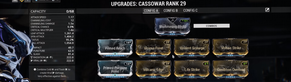 build for cassowar 0 forma