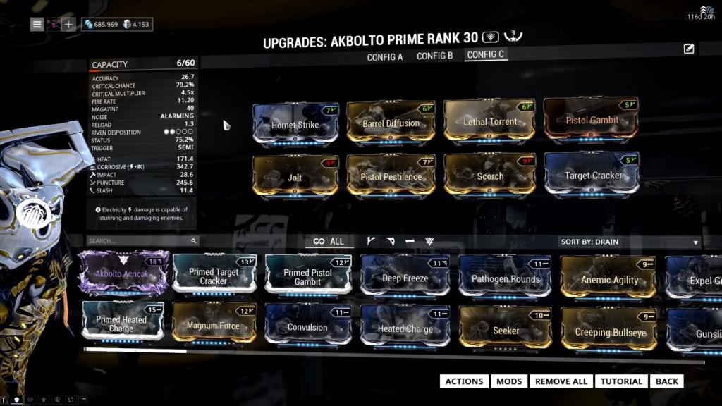 Akbolto Prime budget Build
