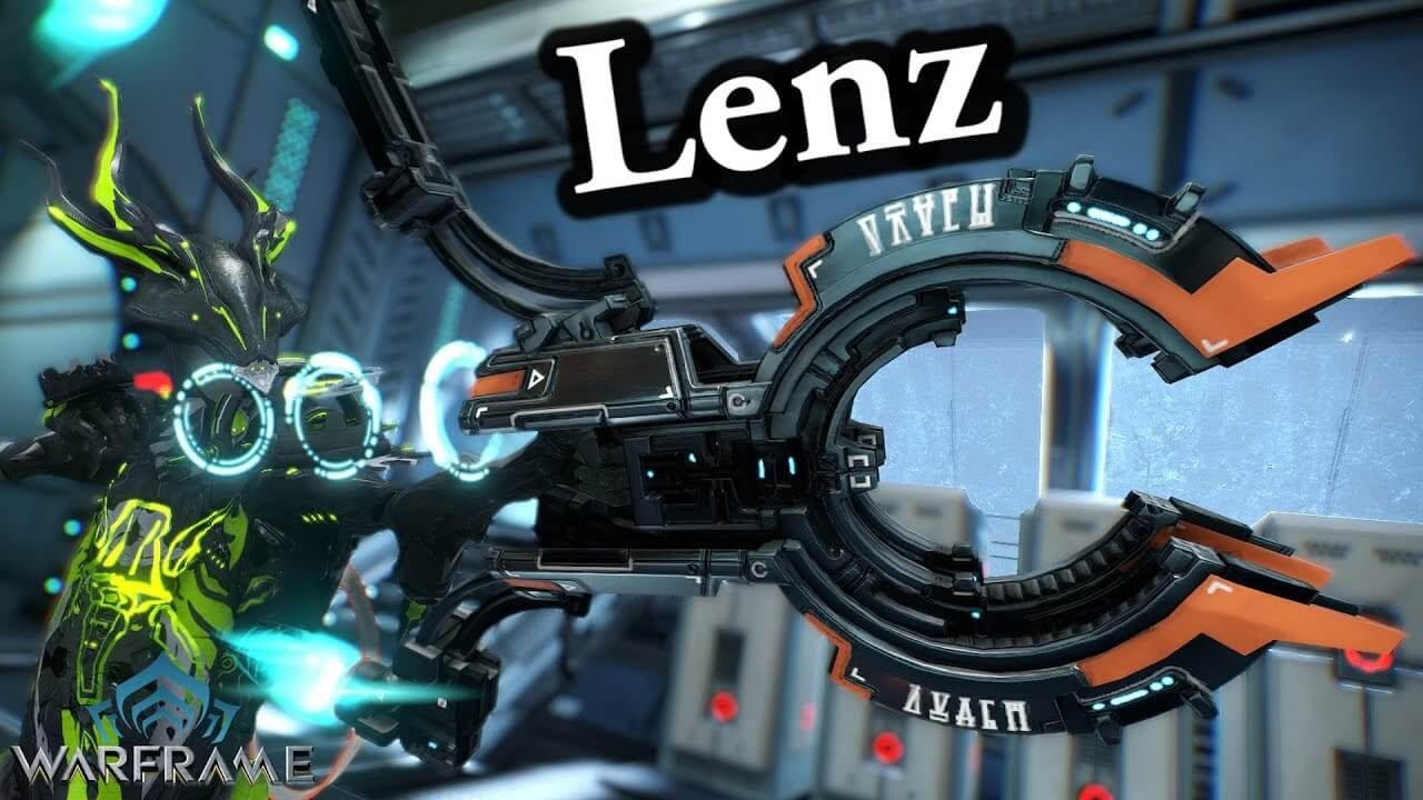 warframe how to get the lenz