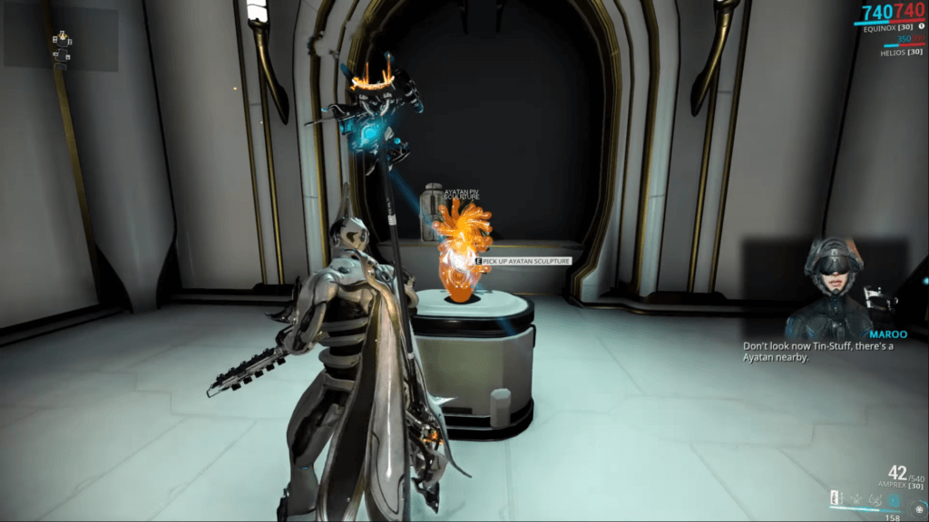 Ayatan Sculpture is waiting for you at the end of every hunt