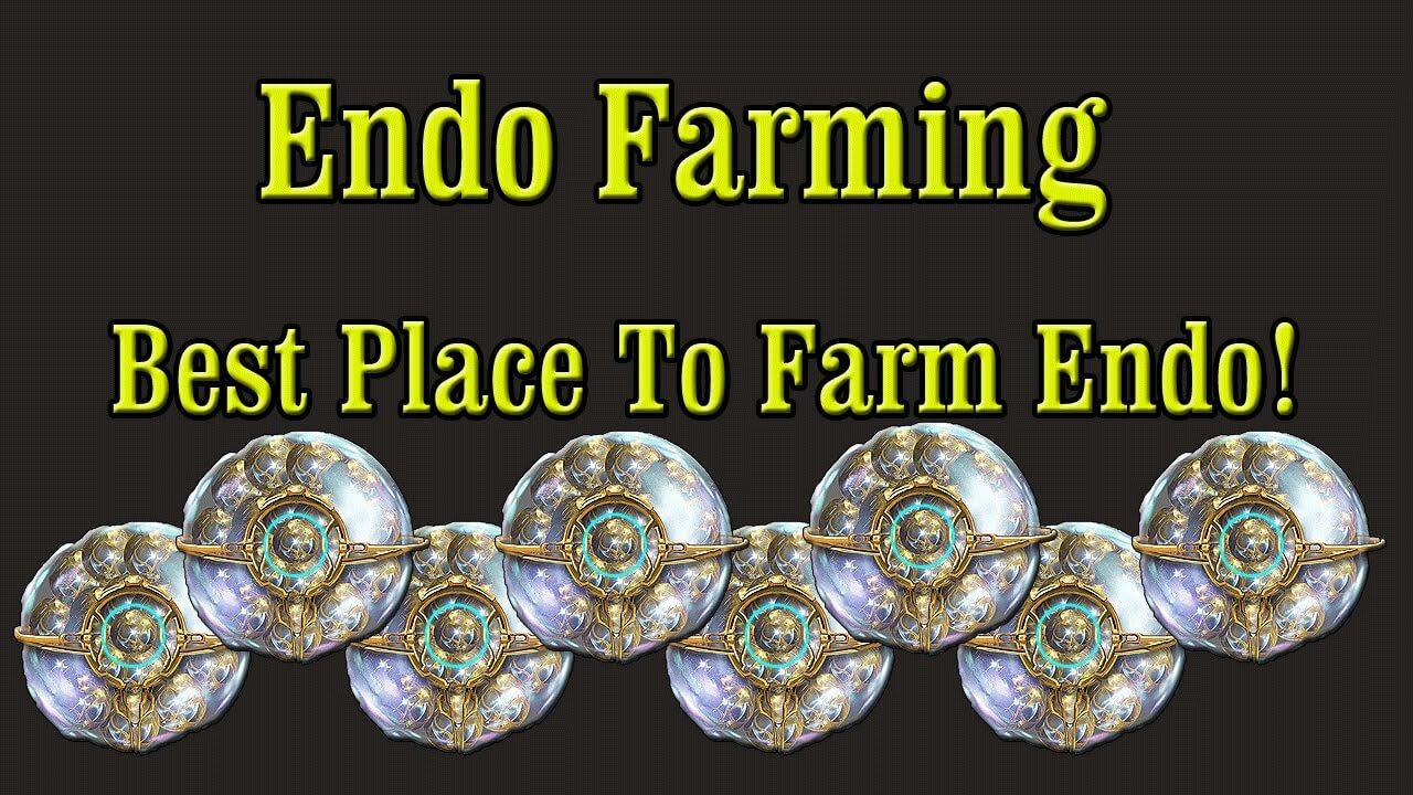 warframe best way to get endo