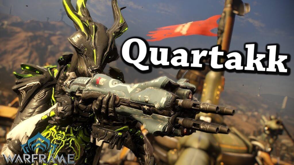 Quartakk rifle with good riven disposition