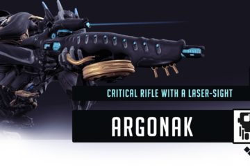 Argonak Build. Critical rifle with a laser-sight.
