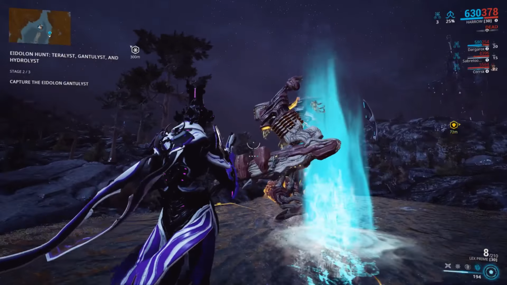 Sacrifice a Brilliant Eidolon Shard to spawn Gantulyst
