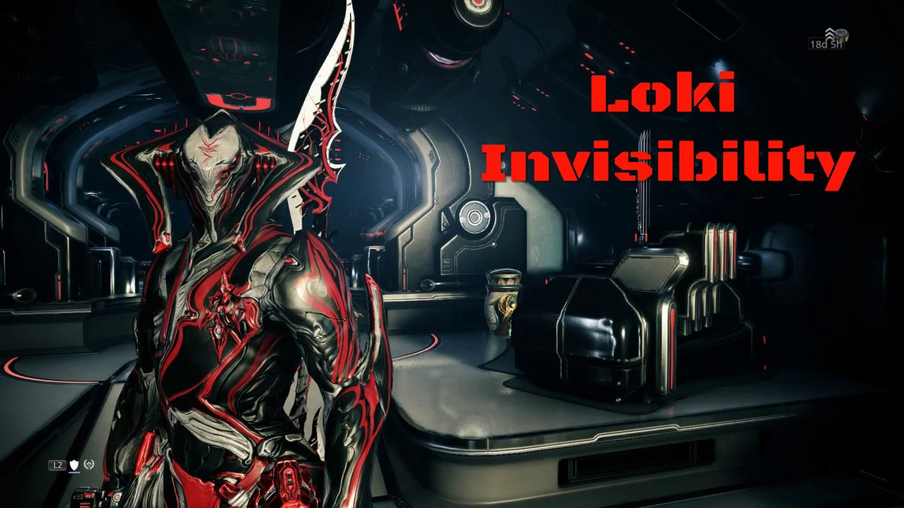 Loki Invisibility/Disarm Build