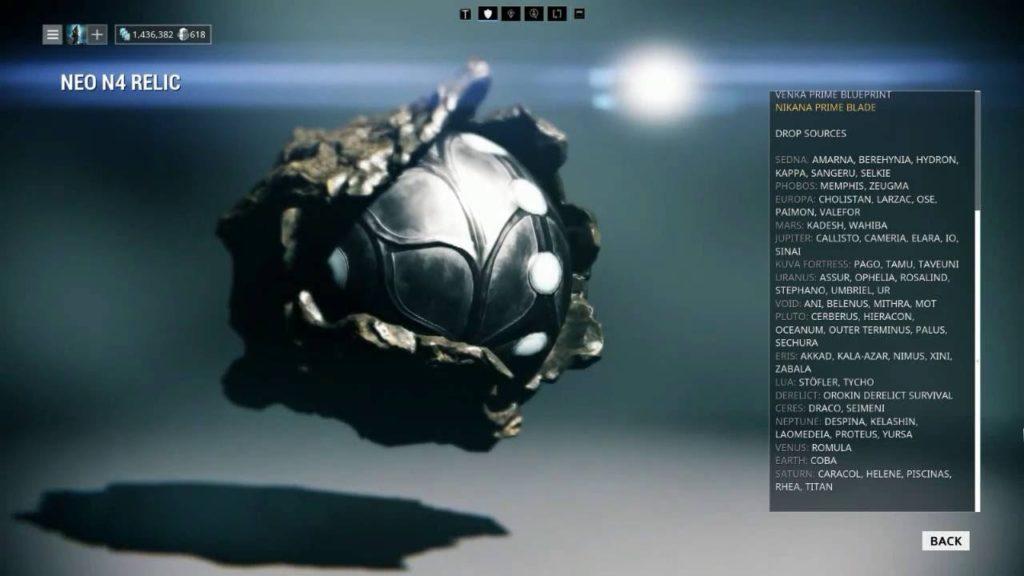 Warframe neo relics farming
