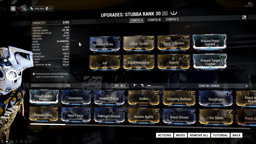 Stubba Build that I use