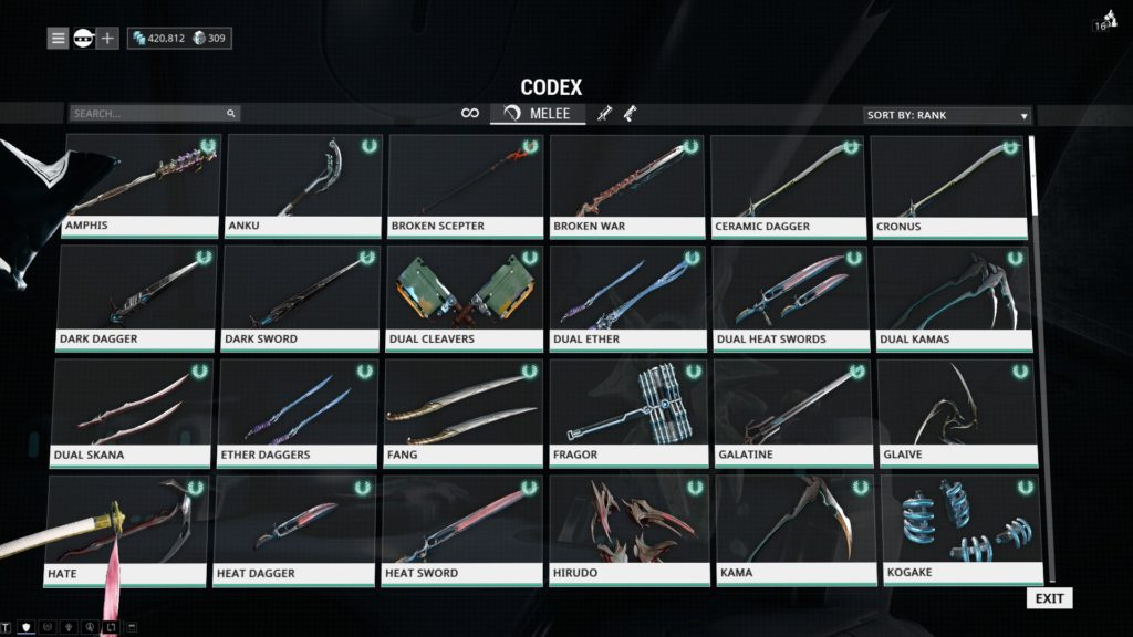 Melee Weapons Warframe Beginners Guide 2018 Warframe Blog