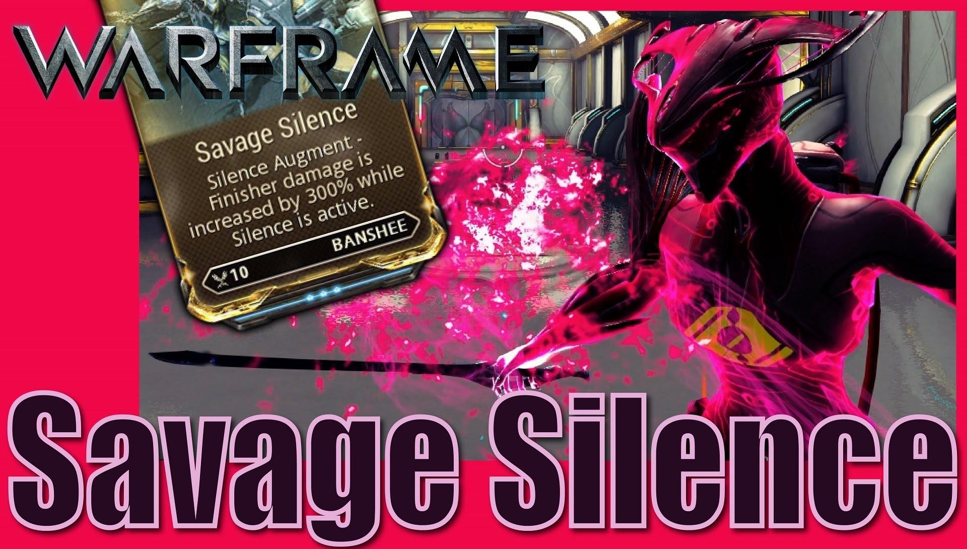 Banshee Savage Silence Build
