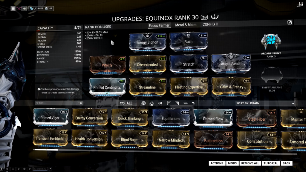 Equinox Focus Farm Build that I use