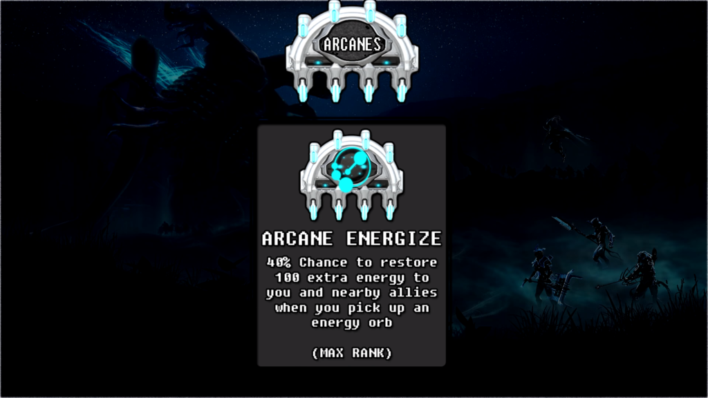 Arcanes that I suggest you to use with Hydroid Puddle Build