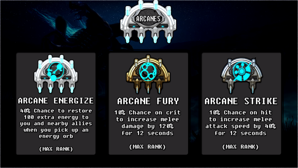 Arcanes that nice synergize with Wukong Immortal Build