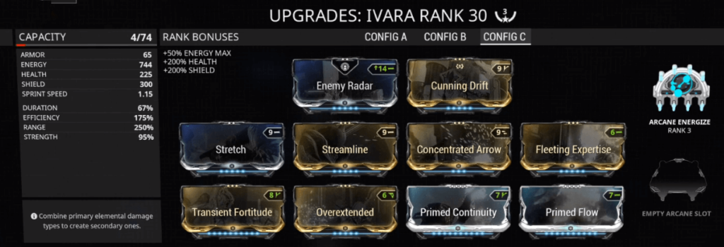 Ivara Concentrated Arrow Build that I use