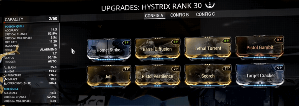 Build for Hystrix if you have two extra formas