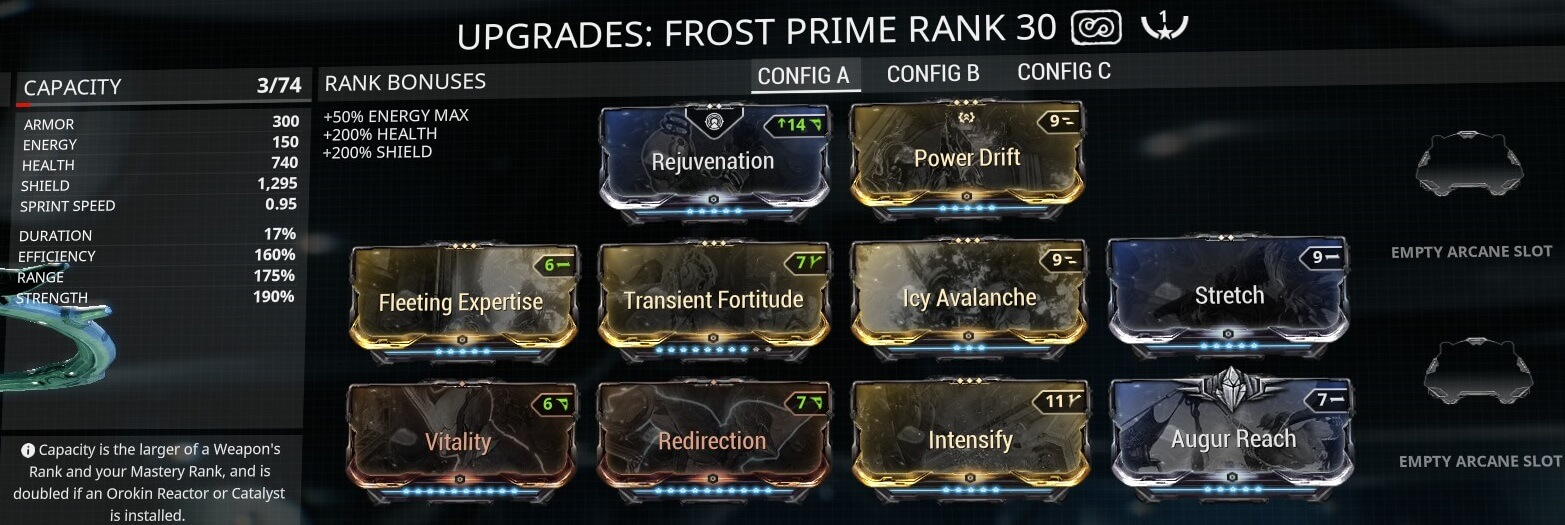 Frost Avalanche Build Frost Prime Avalanche Build Frost Builds