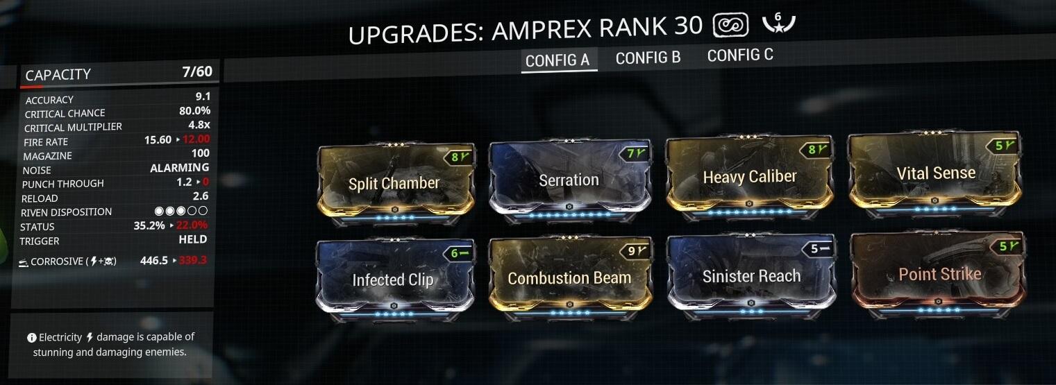 Amprex 6 Forma Build