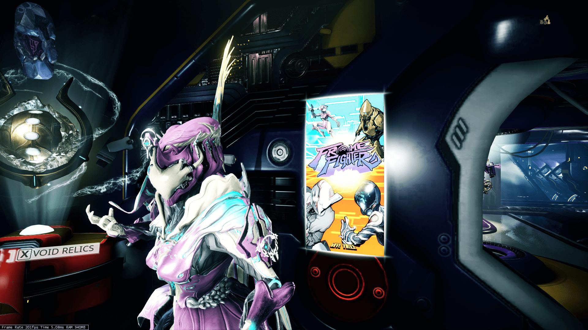 Frame Fighter Poster