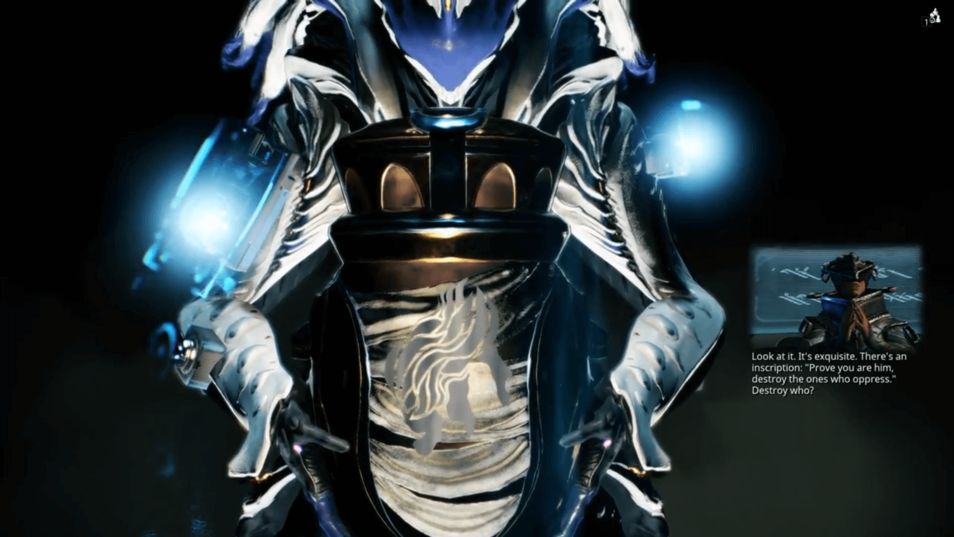 Warframe How to get Inaros Neuroptics