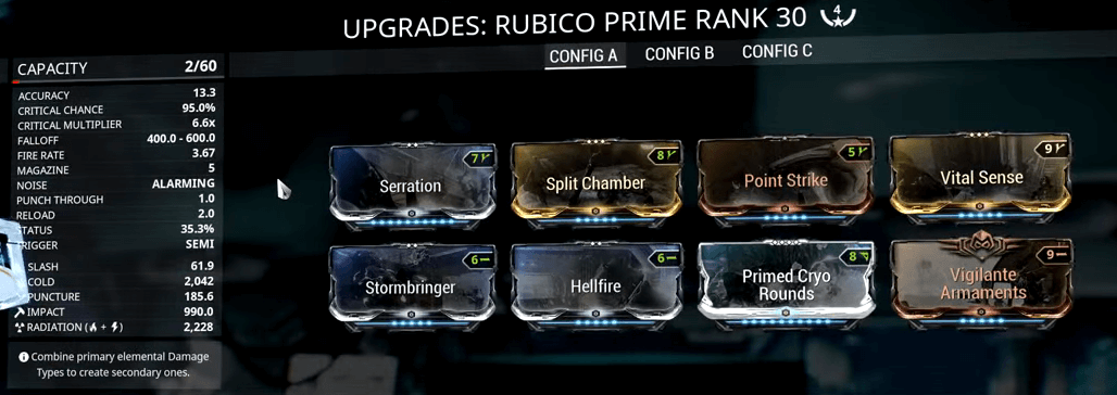 Rubico Prime 4 Forma Build