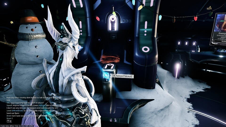 Warframe Nightwave: The Wolf of Saturn Six Guide